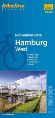 Bikeline Radwanderkarte Hamburg West