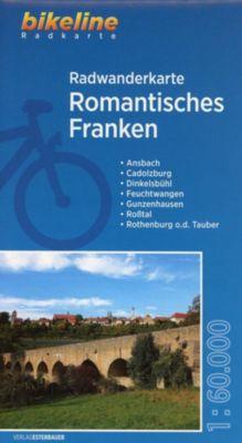 Bikeline Radwanderkarte Romantisches Franken