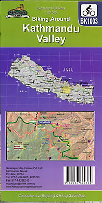 Biking Around Kathmandu Valley 1 : 60 000 - Produktdetailbild 1