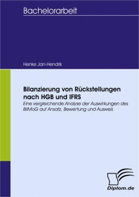Bilanzierung von Rückstellungen nach HGB und IFRS, Jan-Hendrik Henke