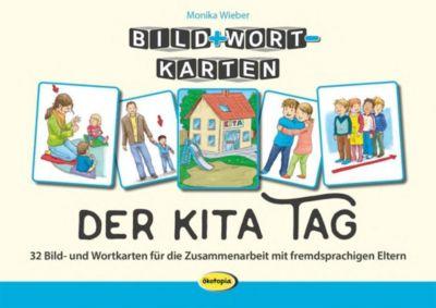 Bild+Wort-Karten: Der Kita-Tag - Monika Wieber |