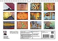 Bilder aus Rost - Im Lauf der ZeitAT-Version (Wandkalender 2019 DIN A4 quer) - Produktdetailbild 1