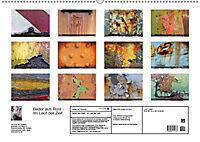 Bilder aus Rost - Im Lauf der ZeitAT-Version (Wandkalender 2019 DIN A2 quer) - Produktdetailbild 1
