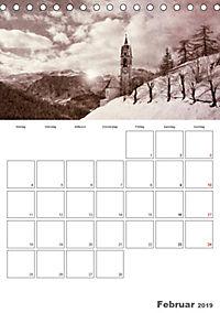 Bilder vergangener Jahre - Südtirol damals (Tischkalender 2019 DIN A5 hoch) - Produktdetailbild 2