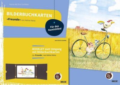 Bilderbuchkarten Freunde von Helme Heine, Katrin Alt, Eva Gottlebe