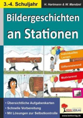 Bildergeschichten an Stationen, Waldemar Mandzel, Horst Hartmann