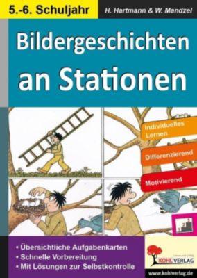 Bildergeschichten an Stationen 5/6, Waldemar Mandzel, Horst Hartmann