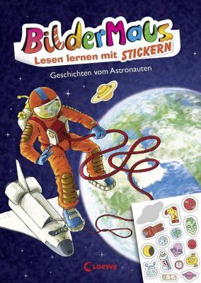 Bildermaus - Lesen lernen mit Stickern - Geschichten vom Astronauten, Thilo