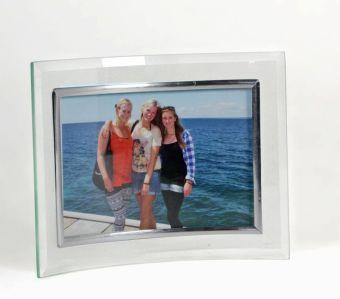bilderrahmen glas geschwungen f r fotoformat 15 x 10 cm. Black Bedroom Furniture Sets. Home Design Ideas