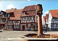 Bildschönes Heppenheim Mittelpunkt der Hessischen Bergstraße (Wandkalender 2019 DIN A3 quer) - Produktdetailbild 12
