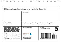 Bildschönes Heppenheim Mittelpunkt der Hessischen Bergstraße (Tischkalender 2019 DIN A5 quer) - Produktdetailbild 13