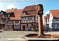 Bildschönes Heppenheim Mittelpunkt der Hessischen Bergstrasse (Tischkalender 2019 DIN A5 quer) - Produktdetailbild 12