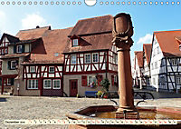 Bildschönes Heppenheim Mittelpunkt der Hessischen Bergstrasse (Wandkalender 2019 DIN A4 quer) - Produktdetailbild 12