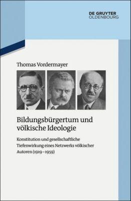 Bildungsbürgertum und völkische Ideologie, Thomas Vodermayer
