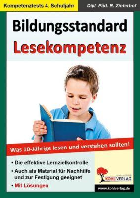 Bildungsstandard Lesekompetenz - Was 10-jährige wissen und können sollten, Reinhold Zinterhof