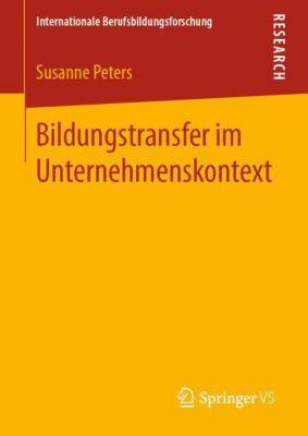 Bildungstransfer im Unternehmenskontext - Susanne Peters pdf epub