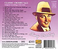 Bing Crosby (Classic Crosby Vol. 1) (Original Recordings 1930-1934) - Produktdetailbild 1