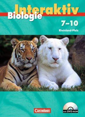 Biologie interaktiv, Realschule Rheinland-Pfalz: 7.-10.. Schuljahr, Schülerbuch m. DVD-ROM