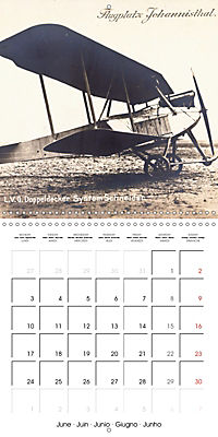 Biplanes on historic postcards (Wall Calendar 2019 300 × 300 mm Square) - Produktdetailbild 6