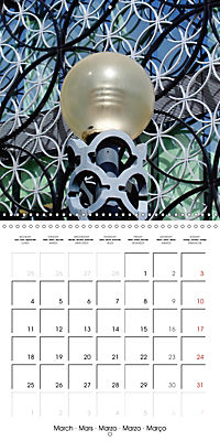BIRMINGHAM SPOTS (Wall Calendar 2019 300 × 300 mm Square) - Produktdetailbild 3