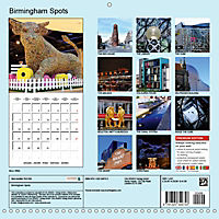 BIRMINGHAM SPOTS (Wall Calendar 2019 300 × 300 mm Square) - Produktdetailbild 13