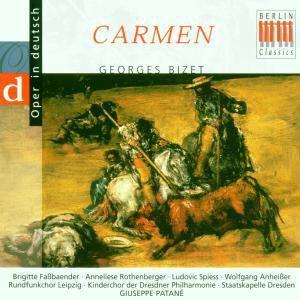 Bizet:Carmen (Qs/Deutsch), Faßbaender, Rothenberger, Patane, Sd