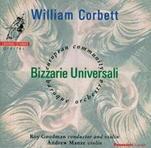 Bizzarie Universali, Andrew Manze, European Community Baroque Orchest