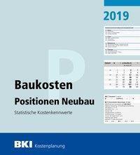BKI Baukosten Positionen Neubau 2019 -  pdf epub