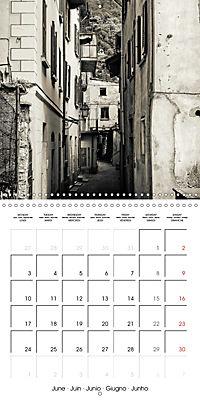 black and white italian alleys (Wall Calendar 2019 300 × 300 mm Square) - Produktdetailbild 6