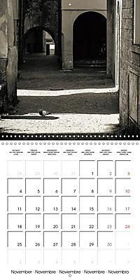 black and white italian alleys (Wall Calendar 2019 300 × 300 mm Square) - Produktdetailbild 11