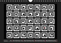 Black, white, red/UK-Version (Wall Calendar 2019 DIN A4 Landscape) - Produktdetailbild 6