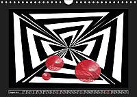 Black, white, red/UK-Version (Wall Calendar 2019 DIN A4 Landscape) - Produktdetailbild 8