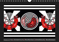 Black, white, red/UK-Version (Wall Calendar 2019 DIN A4 Landscape) - Produktdetailbild 11