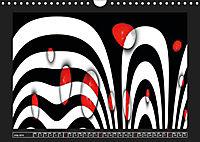 Black, white, red/UK-Version (Wall Calendar 2019 DIN A4 Landscape) - Produktdetailbild 7