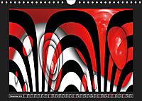 Black, white, red/UK-Version (Wall Calendar 2019 DIN A4 Landscape) - Produktdetailbild 12