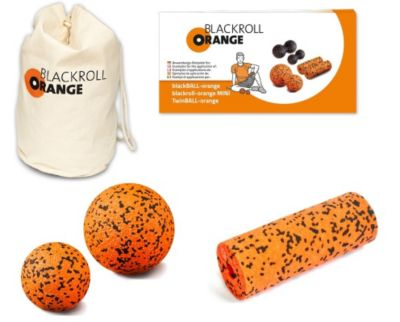 blackroll-orange Zubehör-Set - small, inkl. miniBAG