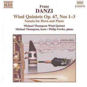 Bläserquintette Op.67 1-3, Michael Wind Quintet Thompson
