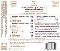 Bläserquintette Op.67 1-3 - Produktdetailbild 1