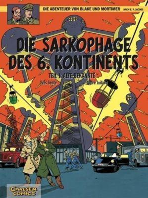 Blake & Mortimer Band 13: Die Sarkophage des 6. Kontinents - Alte Bekannte, Edgar P. Jacobs