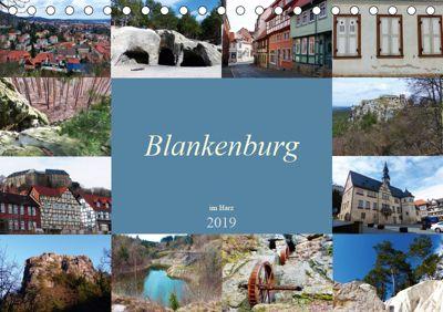Blankenburg im Harz (Tischkalender 2019 DIN A5 quer), Lucy M. Laube
