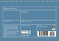 Blankenburg im Harz (Tischkalender 2019 DIN A5 quer) - Produktdetailbild 13