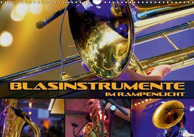 Blasinstrumente im Rampenlicht (Wandkalender 2019 DIN A3 quer), Renate Bleicher