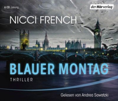 Blauer Montag, 6 Audio-CDs, Nicci French