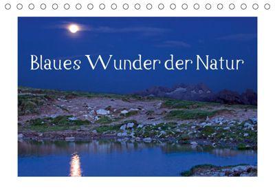 Blaues Wunder der Natur (Tischkalender 2019 DIN A5 quer), Christa Kramer