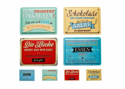 Blechschilder Vintage Kuche Caseconrad Com
