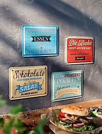 """Blechschilder + Magnete """"Cucina"""", 8-teilig - Produktdetailbild 1"""
