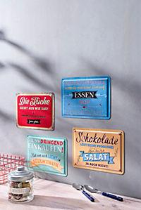"""Blechschilder + Magnete """"Cucina"""", 8-teilig - Produktdetailbild 3"""