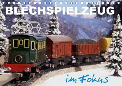 Blechspielzeug im Fokus (Tischkalender 2019 DIN A5 quer), Klaus-Peter Huschka