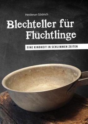 Blechteller für Flüchtlinge - Heiderun Gödrich |