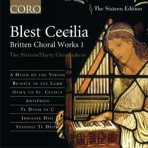 Blest Cecilia, The Sixteen, Harry Christophers